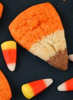 Candy Corn Cookies | Recipe Girl