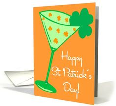 Shamrocktini card (153200) by Totally Painted