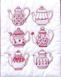 Tea Pots Pattern