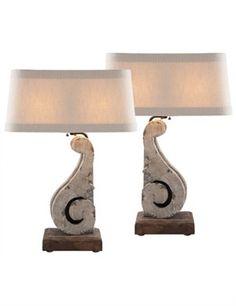 Aidan Gray Home Corbel Table Lamp Set