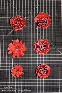 CTMH cricut flowers
