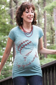 babi bump, matern shirt, graphic tees, babi stuff, hot air balloons