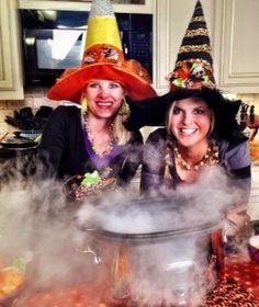 Your slow cooker makes for a perfect cauldron for dry ice!
