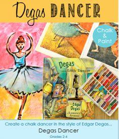 Degas Dancer Art Lesson