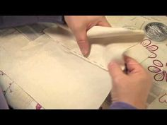 Le point de paris en broderie - Edisaxe - YouTube