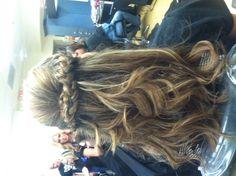 Prom hair(:
