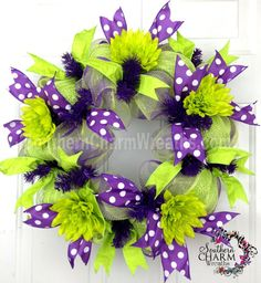Learn How To Make Deco Mesh Wreaths by SouthernCharmWreaths
