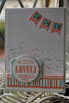 Sale-a-bration Sneak Peak, Banner Blast and Your'e Lovely stamps, available from 28th January 2014, visit my blog here at www.kerrysstampinspiration.blogspot.come for more information or to purchase Stampin' Up! products online 24/7