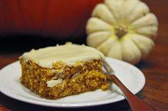 {pumpkin sheet cake recipe}