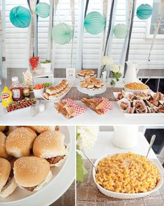 birthday parties, food, summer parties, backyard camping, backyard parties, boy birthday, parti idea, cookout, baby showers