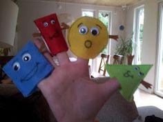 shape rhyme finger puppets