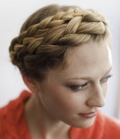 If your hair is oily, try making tight braids, and finish with a glossing spray to make your braids seem like you meant for them to be kind of shiny.