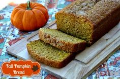 Mommy's Kitchen: Fall Pumpkin Bread {Revisted}