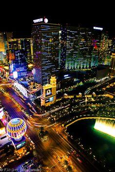 Las Vegas, NV - go every year.
