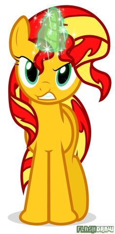 Sunset Shimmer Is Angry by Flash-draw.deviantart.com on @deviantART