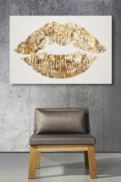 Oliver Gal Solid Kiss Canvas Art by Oliver Gal Gallery