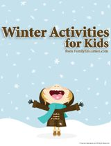 Winter Activities for Kids Printable (K - 8th Grade) - FamilyEducation.com