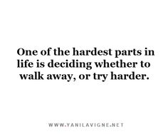 One Of The Hardest Parts