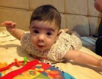 The Recycling Occupational Therapist: Tummy Time Blog Hop and Baby's First Year