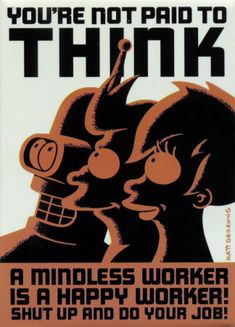 Futurama propaganda art