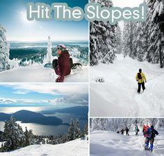 Ski, snowboard, snowshoe & skate this season at Cypress Mountain, Grouse Mountain Resort, & Mt. Seymour!