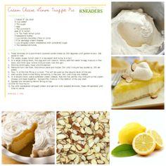 Cream Cheese Lemon Truffle Pie. #Kneaders