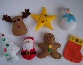 Christmas ornaments -no.14- PDF pattern. $4.50, via Etsy.