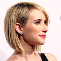 Emma Roberts Joins the Bob Bureau — somebody should cut their hair like this!