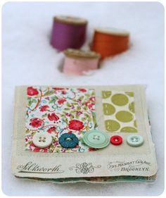 Pretty needle case