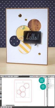 Silhouette tutorial: the subtract all tool