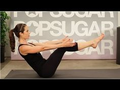 Great yoga ab workout