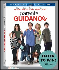 Win PARENTAL CONTROL starring Billy Crystal, Bette Midler, Marisa Tomei and Tom Everett Scott on Blu-Ray/DVD/Digital $29.99