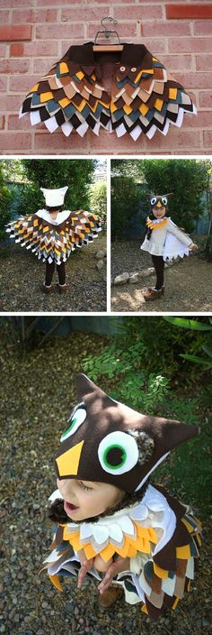 Adorable Owl Costume