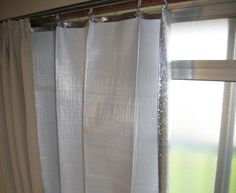 how to make heat blocking curtains for only $6