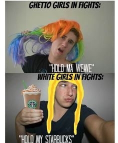 Oooohhh gurl hold ma Starbucks