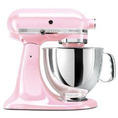 KitchenAid KSM150PSPK Komen Foundation Artisan Series 5-Quart Mixer, Pink,Price: $349.95
