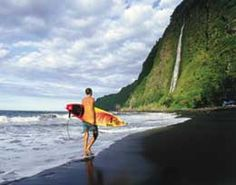 Surf's up on Hawaii's Big Island