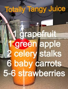 Totally Tangy Juice #juicing #recipe