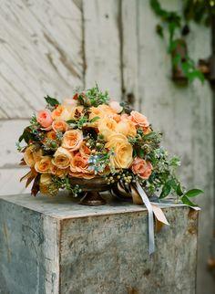 antique bowls for flower arrangements