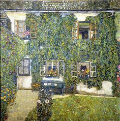 "Gustav Klimt's ""Forester House in Weissenbach on the Attersee,"" 1914"
