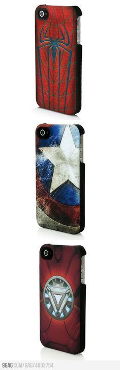 Superhero iPhone Cases!