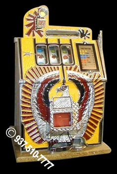 Antique War Eagle Slot Machine