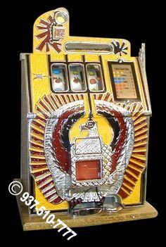 Antique War Eagle Slot Machine