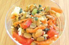 Crunchy Vegetable and Lentil Salad: The ultimate healthy snack