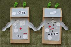 robot puppet, robot crafts for preschoolers, art, craft idea, robots preschool, teacher, robot craft preschool, robots activities preschool, robots for preschool