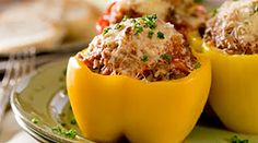 dinner bell, ground beef, food, bell peppers, dinner recipes