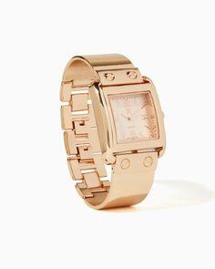 #COTM Time Lock Watch Rose Gold #charmingcharlie