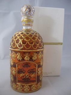 RARE Huge 8 5 oz Guerlain Shalimar Pure Perfume SEALED Bee Bottle | eBay
