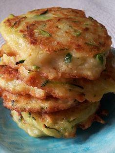 Polish potato cakes with zucchini