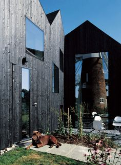 Hunsett Mill Extension in Norfolk, England by Acme